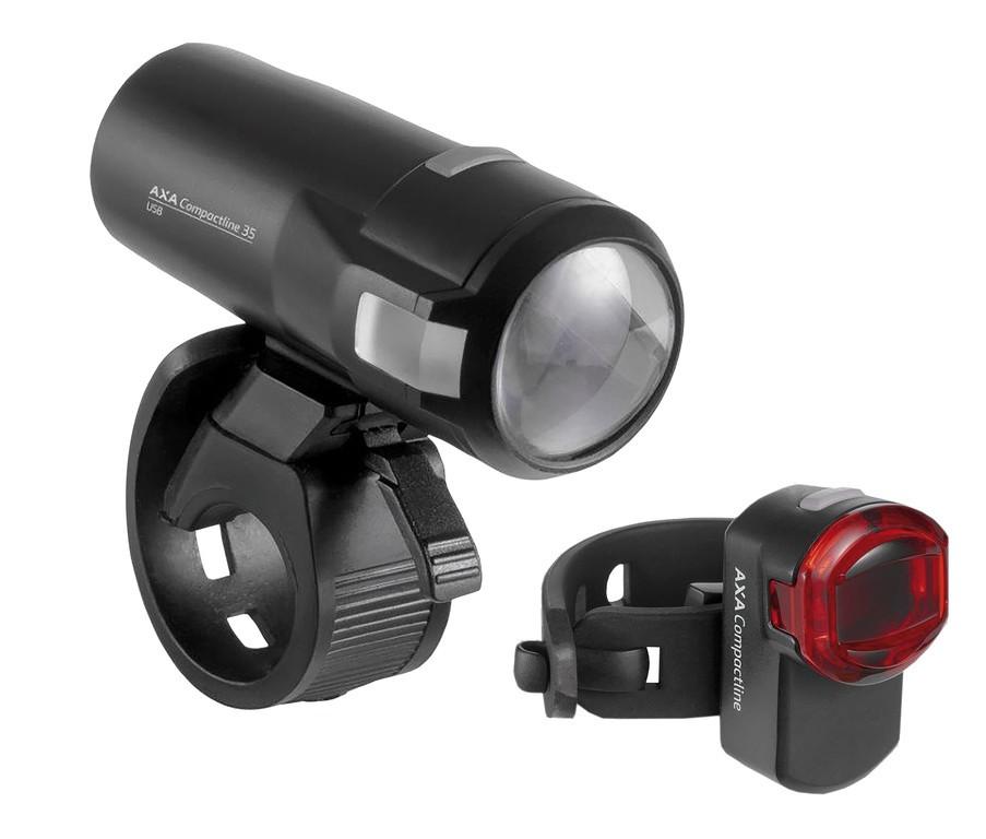 AXA Set de luces LED a batería Compactline 35