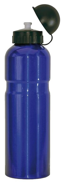 Bidón de aluminio azul